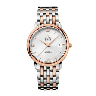 Omega De Ville Men's Two Colour Bracelet Watch - Product number 1954520