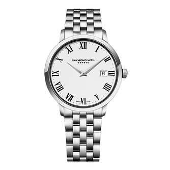 Raymond Weil Toccata Men's Stainless Steel Bracelet Watch - Product number 1957708