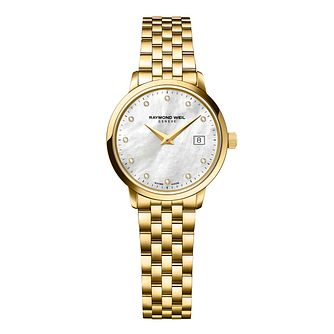 Raymond Weil Toccata Ladies' Gold-Plated Bracelet Watch - Product number 1957732