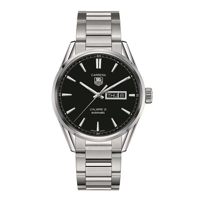 TAG Heuer Carrera 5 Men's Stainless Steel Bracelet Watch - Product number 1958062