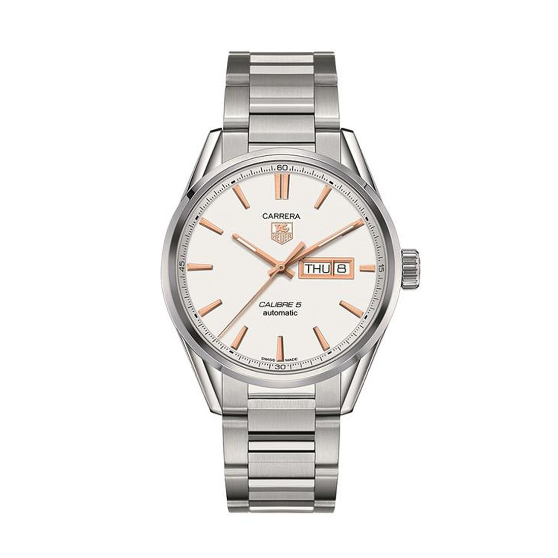 TAG Heuer Carrera Men's Stainless Steel Bracelet Watch - Product number 1958070
