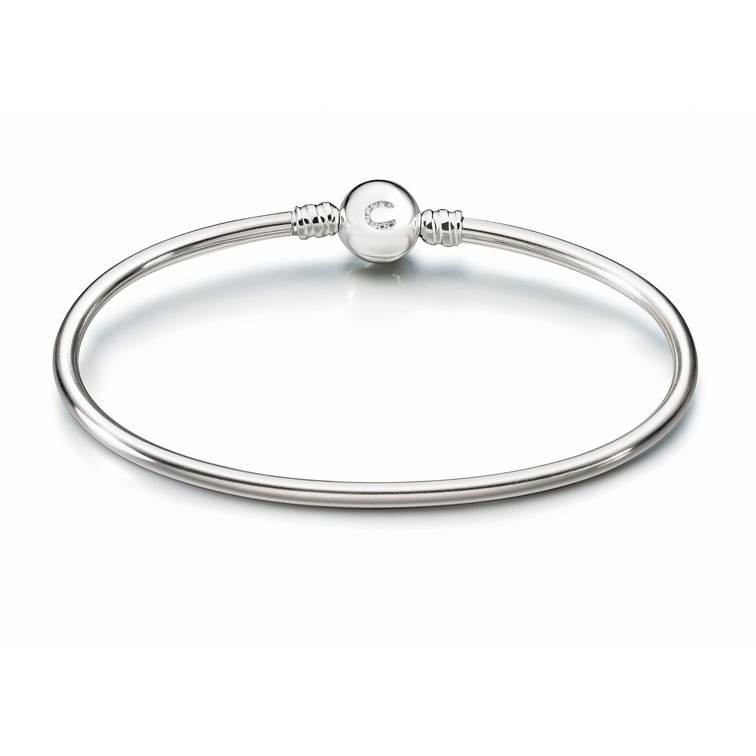 Chamilia Brilliance Swarvoski Zirconia 8.2 inches Bangle - L - Product number 1962450