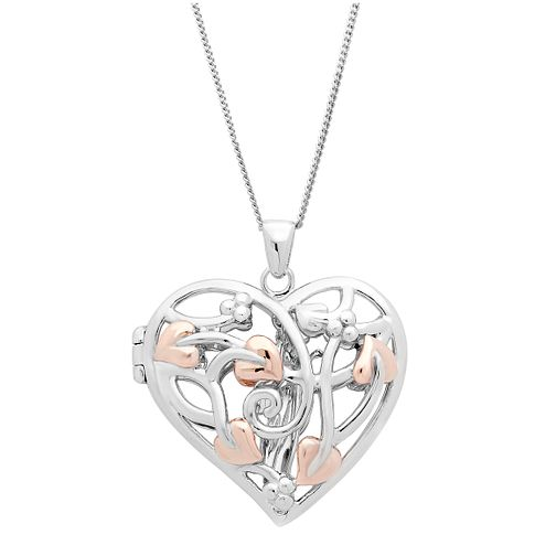 Clogau Silver & Rose Gold Fairy Locket - Product number 1964070