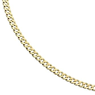 9ct Gold 20 inches Small Curb Chain Necklace - Product number 1968866