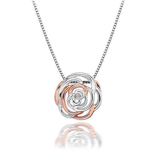 Hot Diamonds Eternal Rose Two Colour Necklace - Product number 1998285