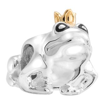 Chamilia Sterling Silver Kissing Frogs Charm - Product number 2008149