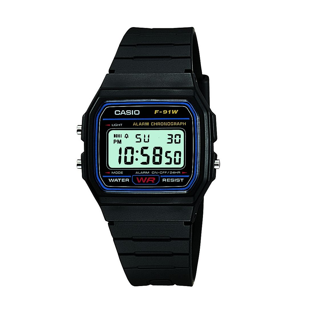 Casio Men's Black Resin Strap Digital Watch - Product number 2016966