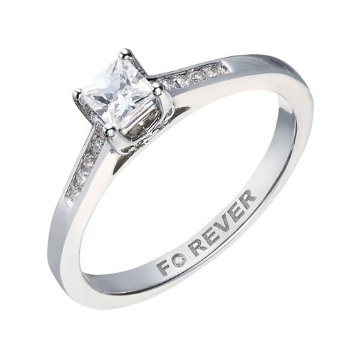 18ct White Gold 0.35 Carat Forever Diamond Ring - Product number 2039508