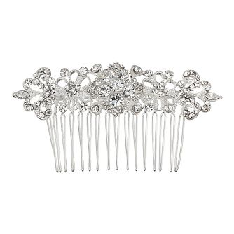 Mikey Bridal Crystal Flower Hair Piece - Product number 2049724