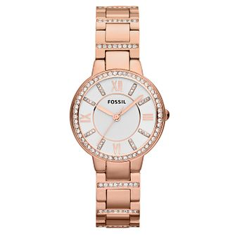 Fossil Virginia ladies' stainless steel bracelet watch - Product number 2051591