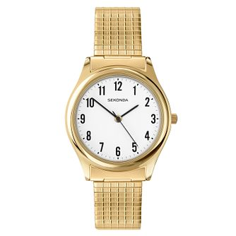 Sekonda Men's Gold Expander Bracelet Watch - Product number 2052970