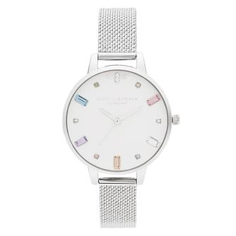 Olivia Burton Rainbow Bee Stainless Steel Bracelet Watch - Product number 2053004