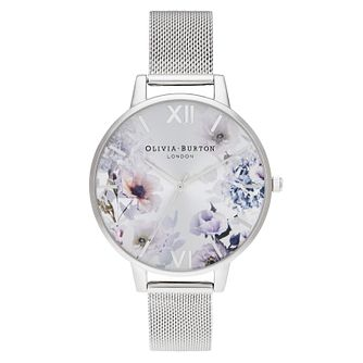 Olivia Burton Sunlight Floral Ladies' Mesh Bracelet Watch - Product number 2060043