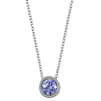 Radley Silver & Sapphire Swarovski Pendant - Product number 2079909