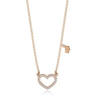 Radley Rose Gold Heart Charm Pendant - Product number 2079976