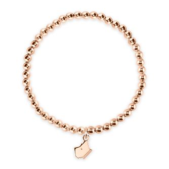 Radley Rose Gold Beaded Charm Bracelet - Product number 2080052