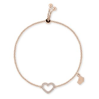 Radley Rose Gold Heart Charm Bracelet - Product number 2080117