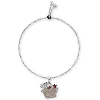 Radley Silver & Enamel Dog In A Bag Bracelet - Product number 2080125