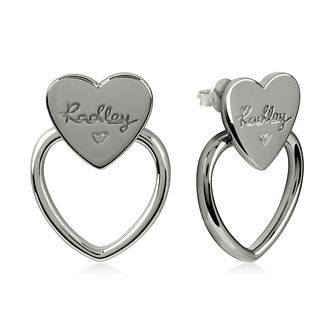 Radley Heart Knocker Silver Stud Earrings - Product number 2080184