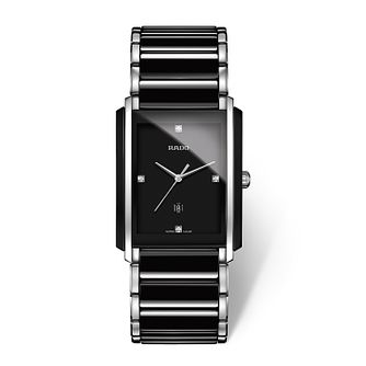 Rado Integral Men's Black Ceramic Bracelet Watch - Product number 2087677