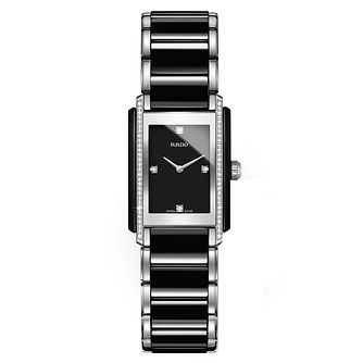 Rado ladies' black ceramic bracelet watch - Product number 2087847