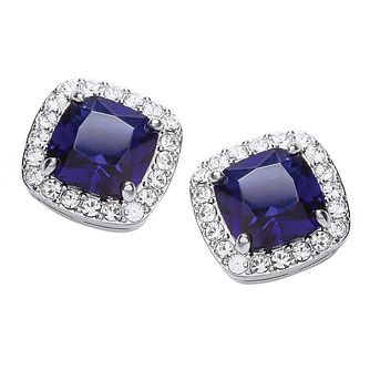 Buckley London Sapphire Blue Stud Earrings - Product number 2119145
