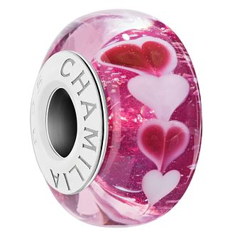 Chamilia Sweet Hearts Murano Glass Charm - Product number 2147076