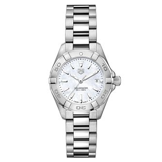 TAG Heuer Aquaracer Ladies' Stainless Steel Bracelet Watch - Product number 2148943