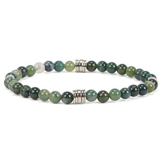 Hugo Boss Bastian Men's Sodalite Stone Beaded Bracelet - Product number 2156962