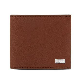 BOSS Crosstown Men's Brown Leather Wallet - Product number 2157780