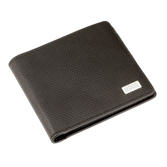 BOSS Men's Black Leather Card Holder & Wallet Gift Set - Product number 2157993
