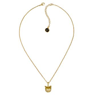 Karl Lagerfeld Swarovski Choupette Gold Plated Necklace - Product number 2158191