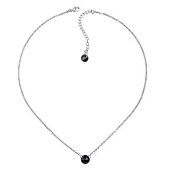 Karl Lagerfeld Rose Cut Choupette Rhodium Plated Necklace - Product number 2160447