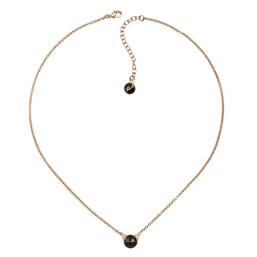 Karl Lagerfeld Rose Cut Choupette Rose Gold Plated Necklace - Product number 2161060