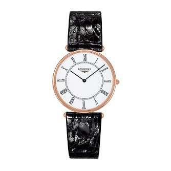 Longines La Grande Classique 18ct Rose Gold Strap Watch - Product number 2162733