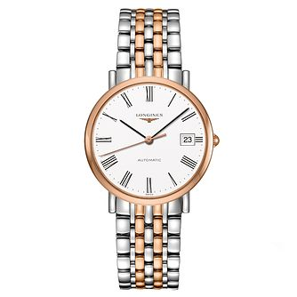 Longines Elegant Ladies' Two Colour Bracelet Watch - Product number 2162741