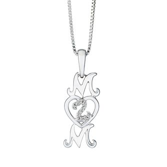 Open Hearts Family By Jane Seymour Diamond Mum Pendant - Product number 2166232
