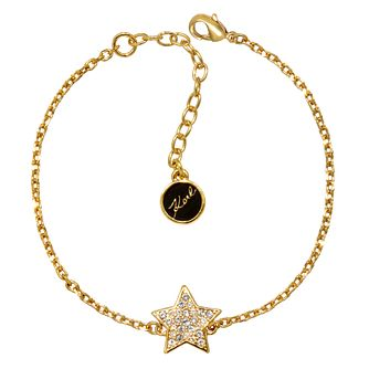 Karl Lagerfeld Swarovski Star Gold Plated Bracelet - Product number 2170507