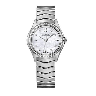 Ebel Wave Ladies' Stainless Steel Bracelet Watch - Product number 2172348