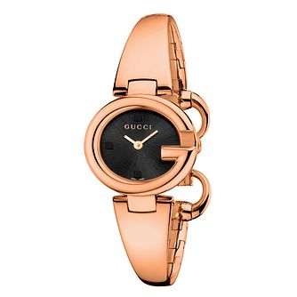 Gucci Guccissima small rose gold plated bangle watch - Product number 2173808