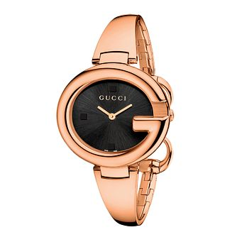 Gucci Guccissima large rose gold plated bangle watch - Product number 2173816