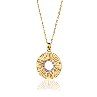 Clogau Meander 9ct Gold & White Topaz Pendant - Product number 2173948