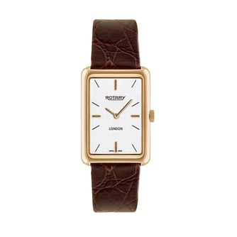 Rotary men's brown leather strap watch - Product number 2174987