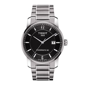 Tissot men's titanium & stainless steel bracelet watch - Product number 2175525
