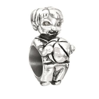 Chamilia Snips & Snails Sterling Silver Little Boy Charm - Product number 2177765
