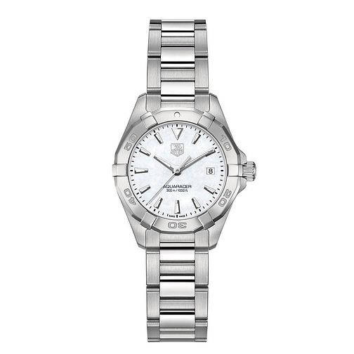 f743293e37a TAG Heuer Aquaracer ladies  stainless steel bracelet watch - Product number  2179695