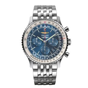 Breitling Navitimer 46 men's stainless steel bracelet watch - Product number 2181479