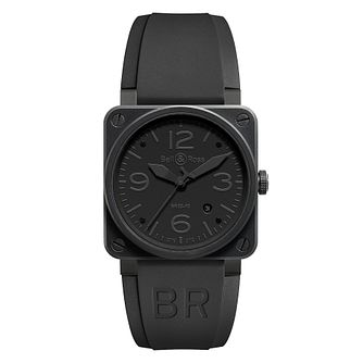 Bell & Ross Br03 Men's Ceramic Phantom Black Strap Watch - Product number 2185903