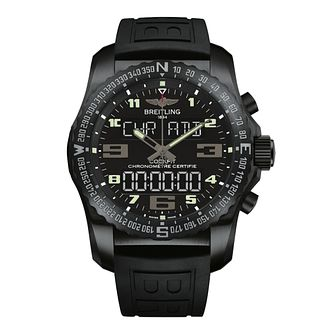 Breitling Cockpit B50 men's black rubber strap watch - Product number 2188147