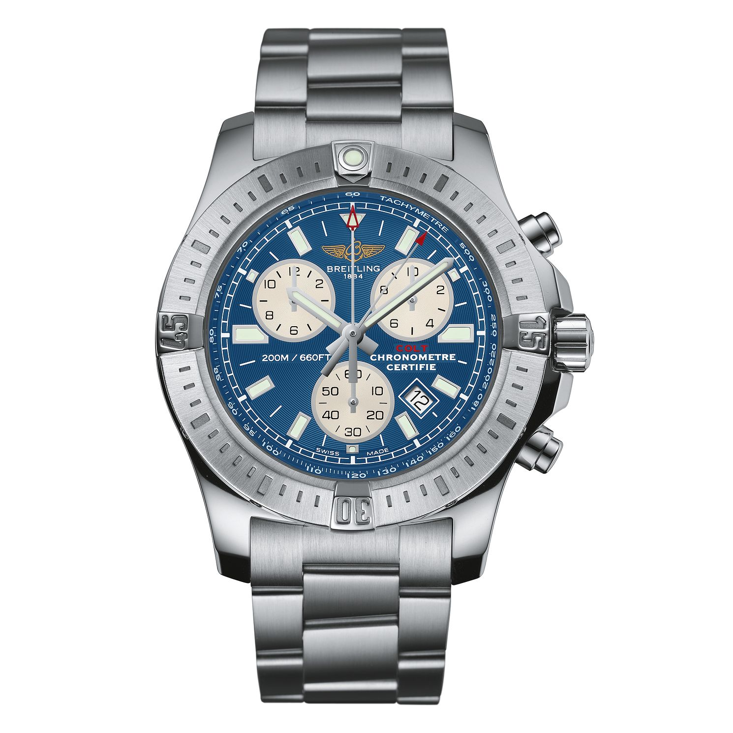 Breitling Colt Chronograph Men's Stainless Steel Watch - Product number 2189615